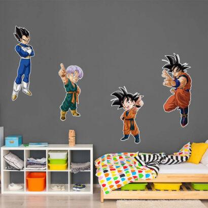 Pack de pegatinas Dragon Ball Personajes