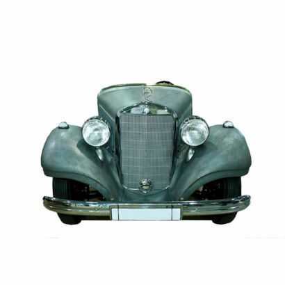 Photocall Coche Clásico Mercedes