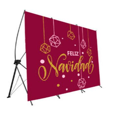 photocall-flexible-feliz-navidad-rojo