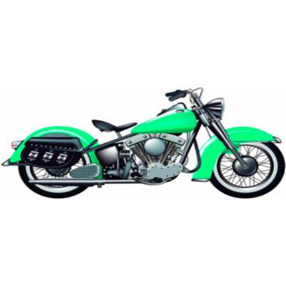 photocall-moto-verde
