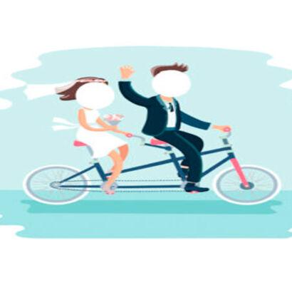 photocall-novios-bicicleta