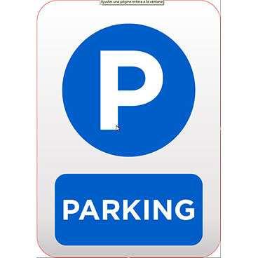 Señaletica Parking Redondo