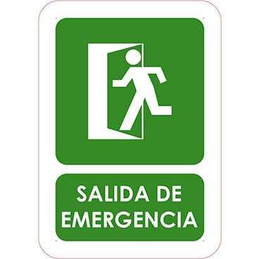 Señaletica Salida de Emergencia