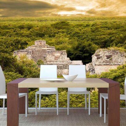 Papel Pintado Templo Maya
