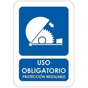 uso obligatorio proteccion regulable