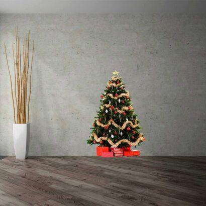 vinilo decorativo arbol navidad