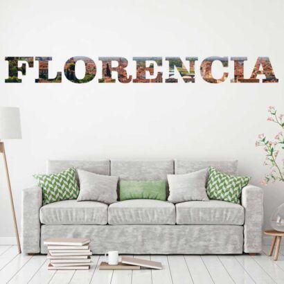 Vinilo Decorativo Ciudades Florencia