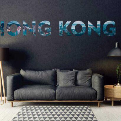 Vinilo Decorativo Ciudades Hong Kong