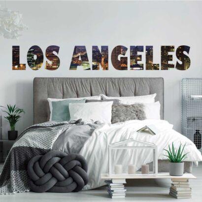 Vinilo Decorativo Ciudades Los Ángeles