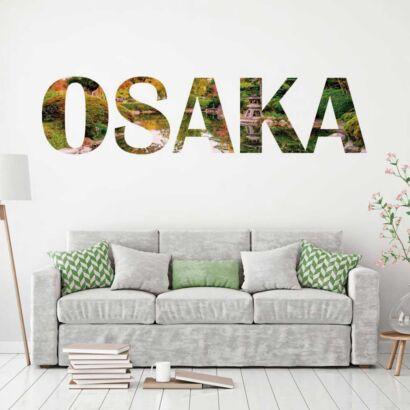 Vinilo Decorativo Ciudades Osaka