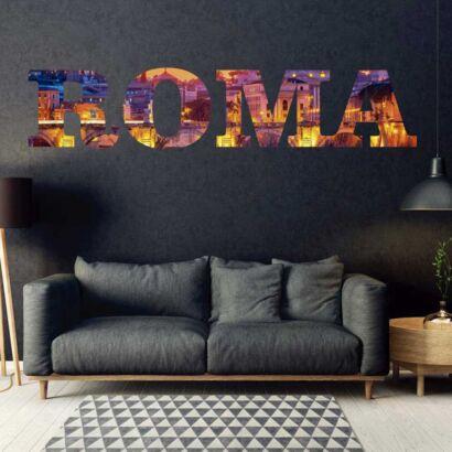 Vinilo Decorativo Ciudades Roma 2