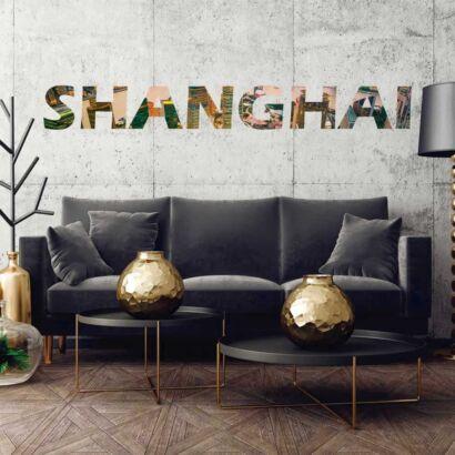 Vinilo Decorativo Ciudades Shanghai