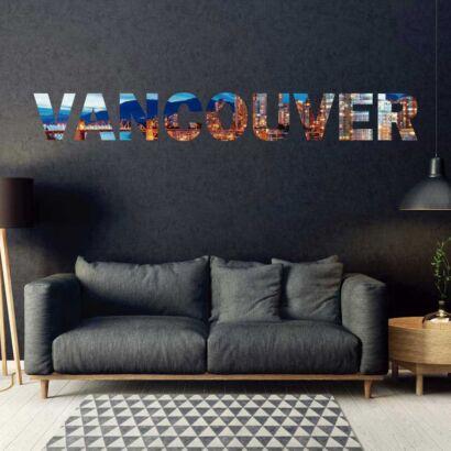 Vinilo Decorativo Ciudades Vancouver