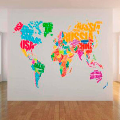 vinilo-decorativo-mapamundi