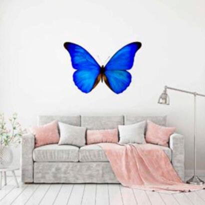 vinilo-decorativo-mariposa-azul