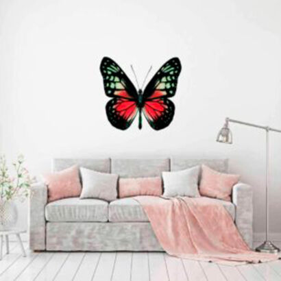 vinilo-decorativo-mariposa-roja