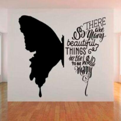 vinilo-decorativo-mariposa-tipografica