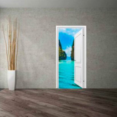 vinilo-decorativo-puerta-mar