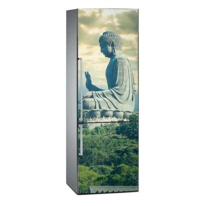 Vinilo Frigorífico Estatua Buda Hong Kong