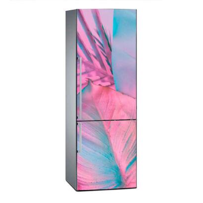 vinilo-frigorifico-hoja-rosa-vinilo