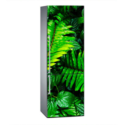 vinilo-frigorifico-hojas-verdes-vinilo