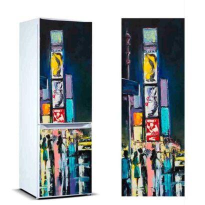 vinilo frigorifico pintura nueva york