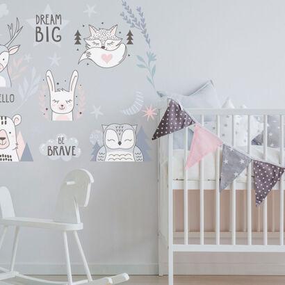 Vinilo Infantil Animales Big Dream