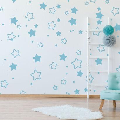 Vinilo Infantil Estrellas Azules