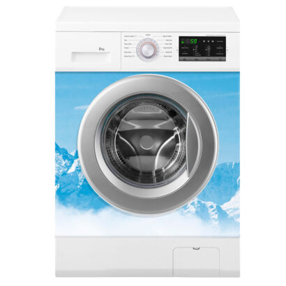 vinilo-lavadora-montañas-nevadas-montaje