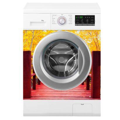 vinilo-lavadora-puente-otoñal-montaje