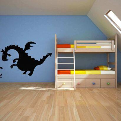 Vinilo Pared Dragon