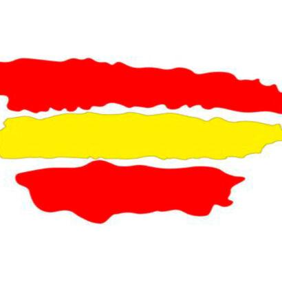 vinilo-pegatina-bandera-españa-trazos