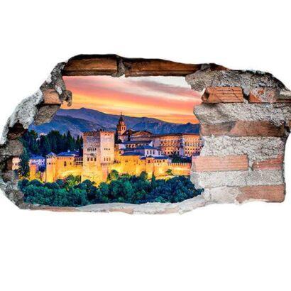 Vinilo 3D Alhambra