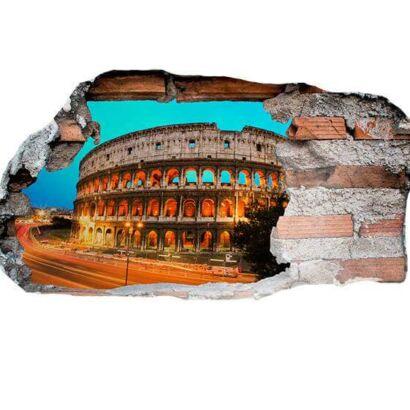 Vinilo 3D Coliseo Romano