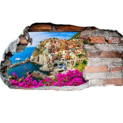 Vinilo 3D Manarola Italia