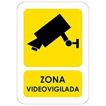 Señaletica Zona Videovigilada