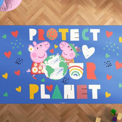 Alfombra Infantil Espíritu Libre Protect the Planet
