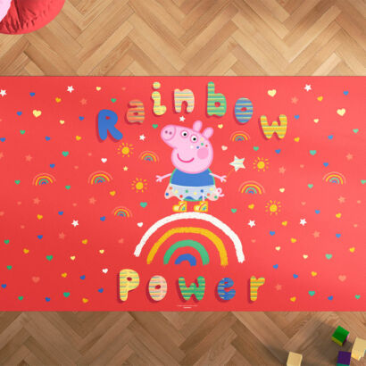 Alfombra Infantil Espíritu Libre Rainbow Power