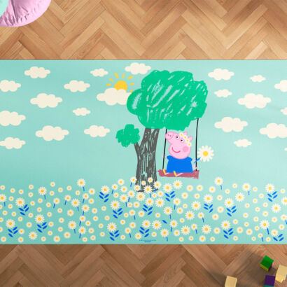Alfombra Infantil Peppa Pig Espíritu Libre Tree Swing