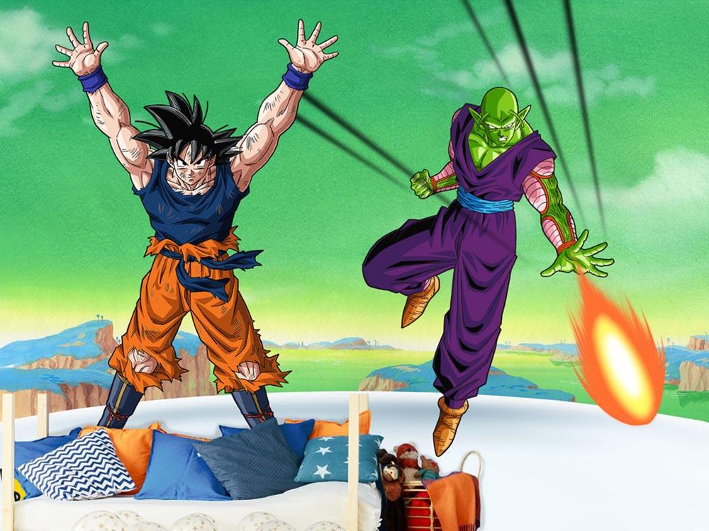 Fotomural de Goku y Piccolo