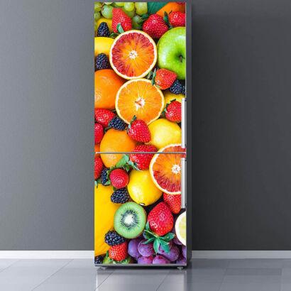Vinilo Frigorífico Frutas