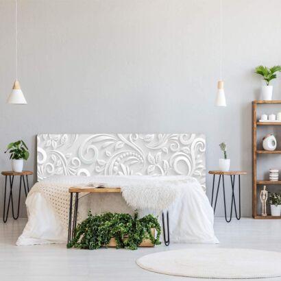 Cabecero Cama PVC Estampado Blanco
