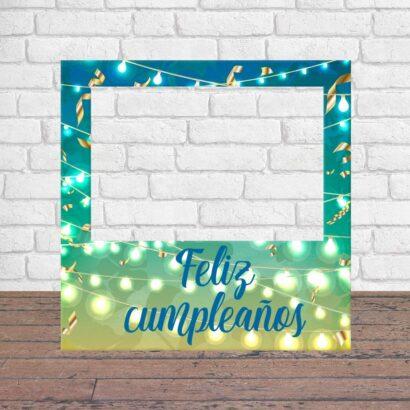 Photocall Feliz Cumpleaños Luces