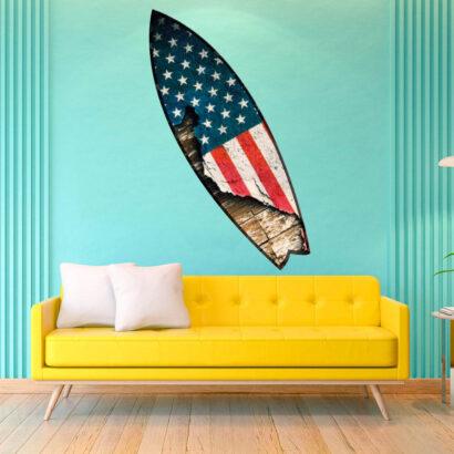 Tabla de Surf Bandera EEUU