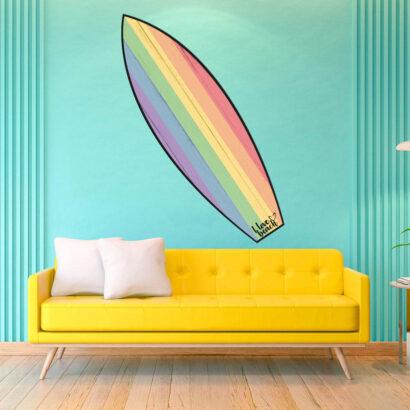 Tabla de Surf Bandera Orgullo
