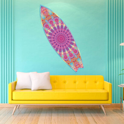 Tabla de Surf Mandala