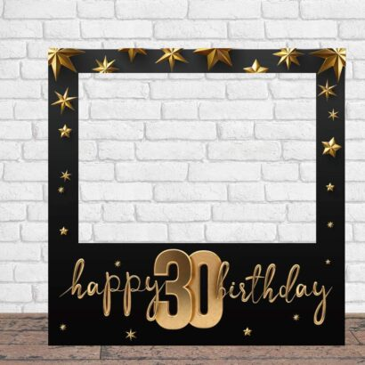 Photocall Feliz Cumpleaños 30 Estrellas