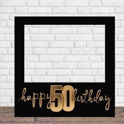 Photocall Feliz Cumpleaños 50