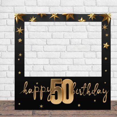 Photocall Feliz Cumpleaños 50 Estrellas