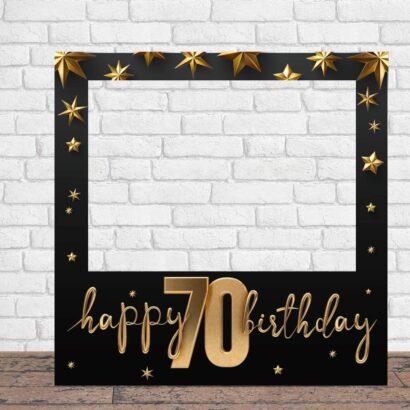 Photocall Feliz Cumpleaños 70 Estrellas